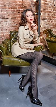 Frauen in strumpfhosen geile Arbeitskollegin trägt